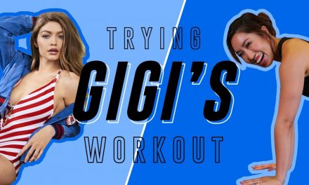 Gigi Hadid's No Equipment Travel Routine | Cassey Tries Celebrity Workouts