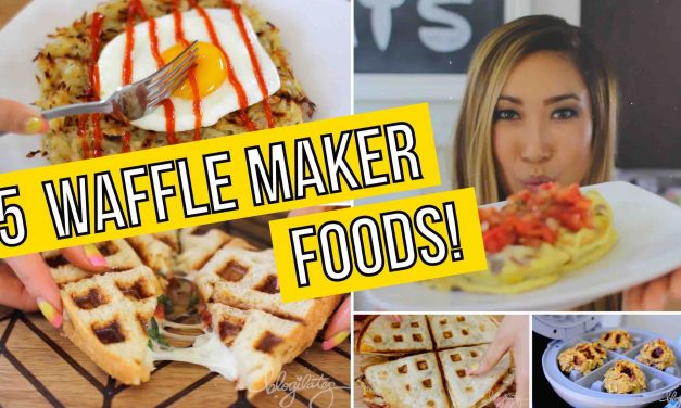 5 Unusual Ways to use a Waffle Maker! Omelets, Paninis, Quesadillas, Cookies & Hashbrowns