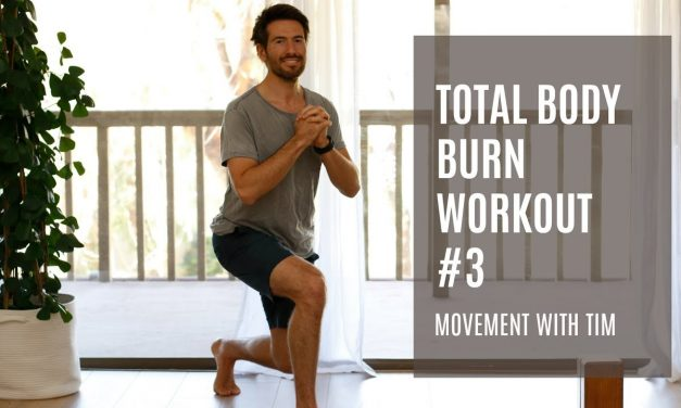Total Body Burn Workout #3 | Movement With Tim