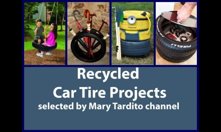 Tire DIY Crafts Ideas – Recycled Tire Projects – Recycling Tyres Ideas