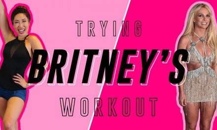 Britney Spears' Hard Abs Workout   Cassey Tries Celebrity Workout