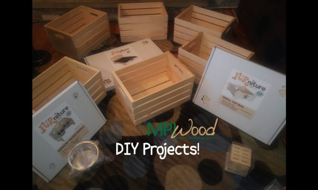 DIY and Crafts Coming to my Channel? Thanks to MPI Wood.