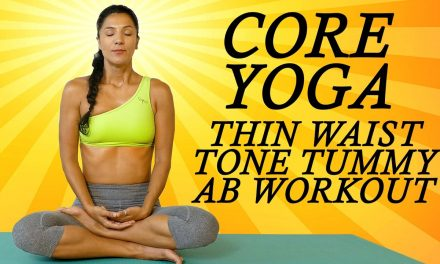 Yoga for Abs, Core & Belly Fat with Sanela   Beginners at Home Yoga Workout for a Flat Tummy