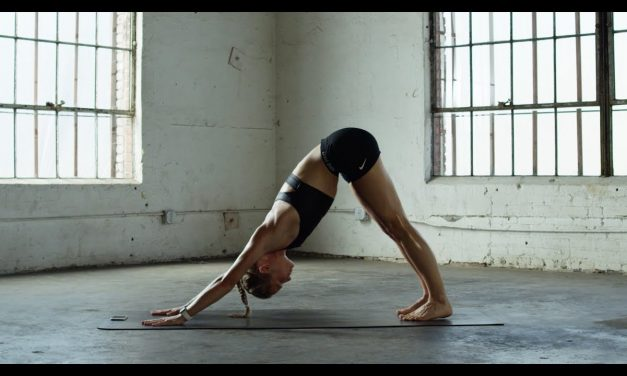 Fat Burn – Get Toned Abs With Downward Dog Crunch