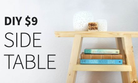 DIY 2X4 Side Table | How to