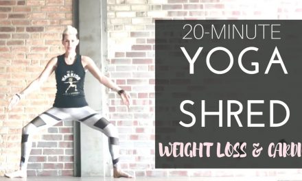 20-Min Yoga Shred™ (HIIT + Yoga) for Weight Loss and Cardio Blast!
