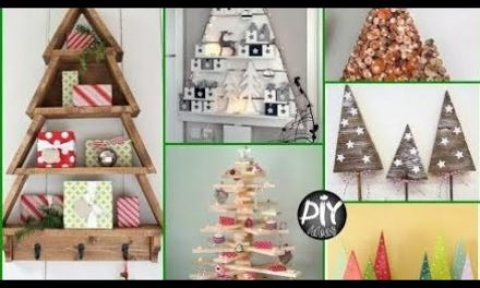 DIY Wood Christmas Tree Ideas – Crafts to Make and Sell