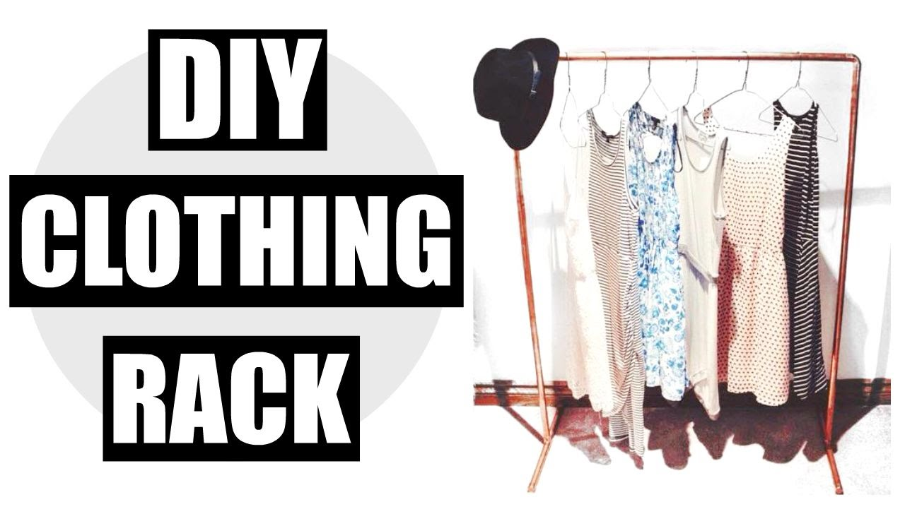 DIY Clothing Rack!!! | Emma Douglas