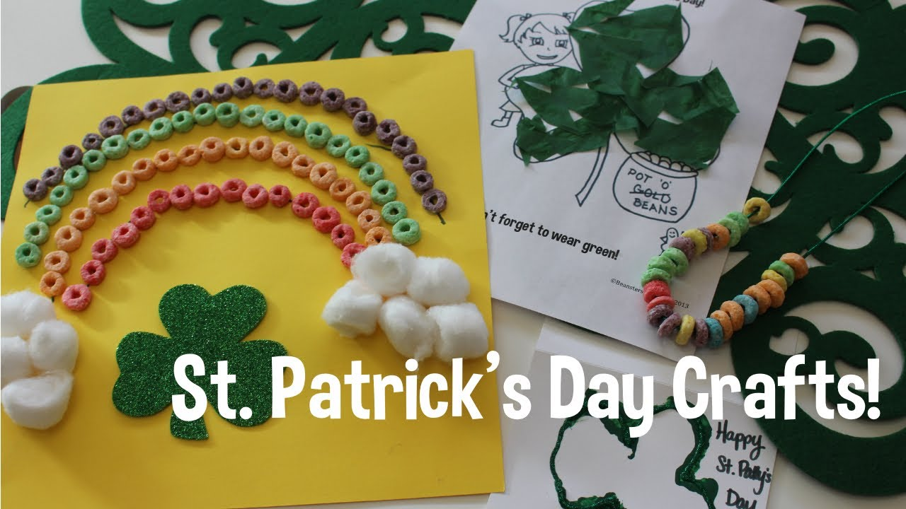 St. Patrick's Day Crafts w/your toddler! DIY!