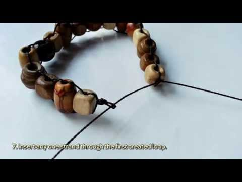 How To Designed A Combined Wooden Beaded Bracelet – Diy Crafts Tutorial – Guidecentral
