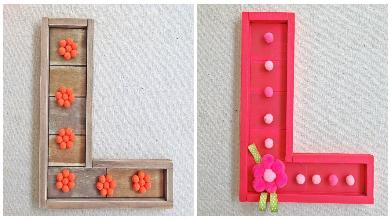 Pre-Created Barn Wooden Letters for Do it yourself Crafts