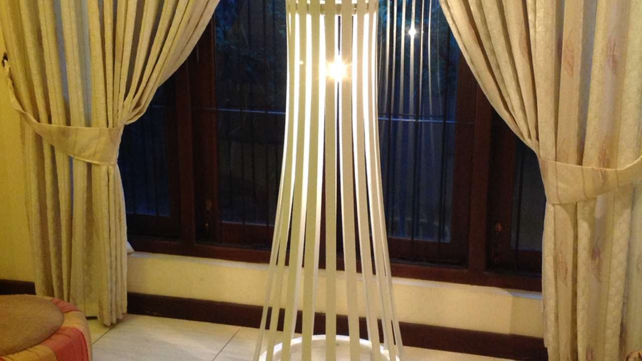 How To Make A Uncomplicated Sophisticated Slat Wooden Flooring Lamp – Do-it-yourself Crafts Tutorial – Guidecentral