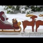 Xmas Wooden Crafts Styles