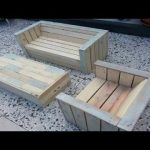 Outdoor Furniture Made with Pallets  Everyone Can Make