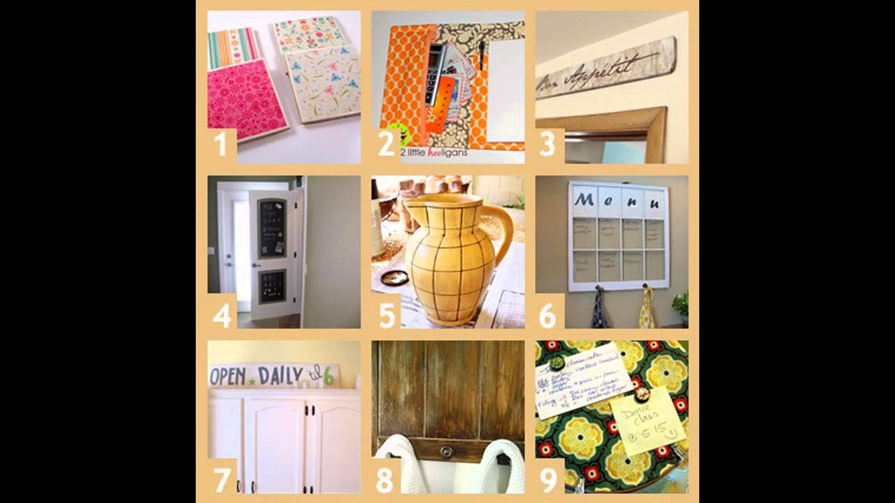 Easy DIY Kitchen craft ideas
