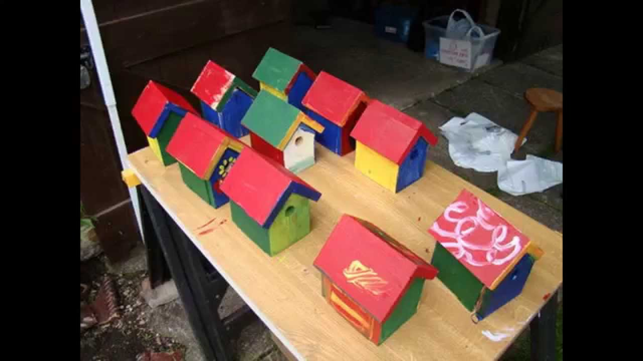 Wood crafts for young children