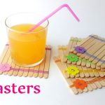Diy crafts: COASTERS making use of ice-product sticks – Innova Crafts