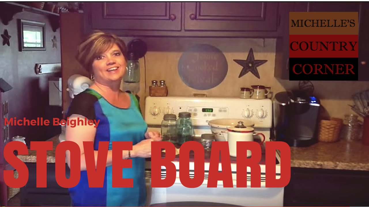 Country Kitchen Decorating – Stove Board