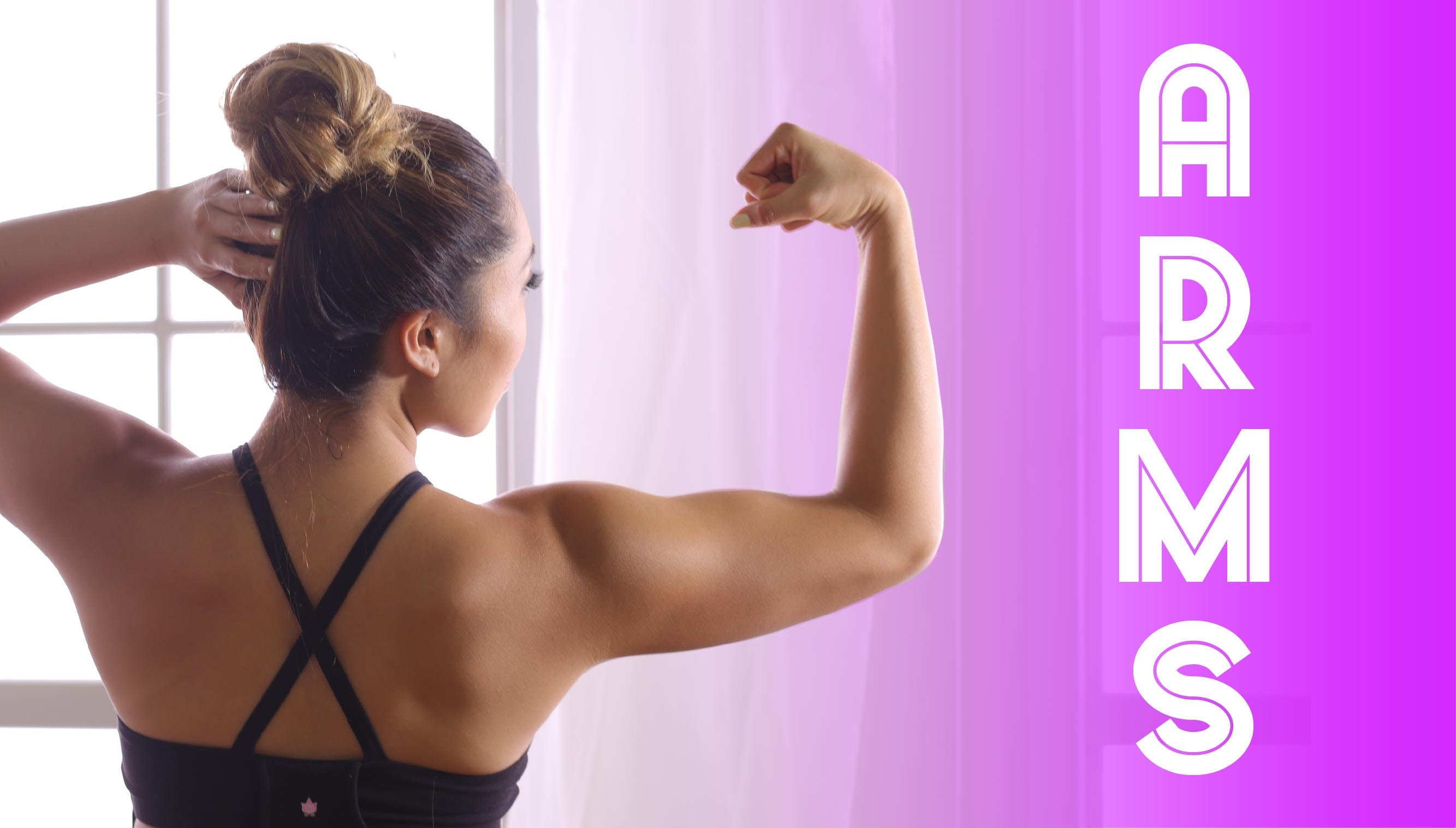 Toned & Defined Arms Workout! No weights needed!