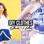 DIY Clothes: Shorts & Halter Top! (No Sew)