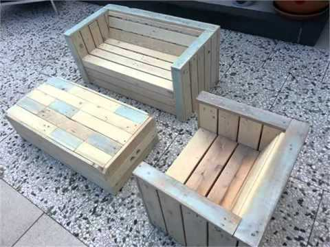 DIY Pallet Furniture | Kids Furniture Pallets