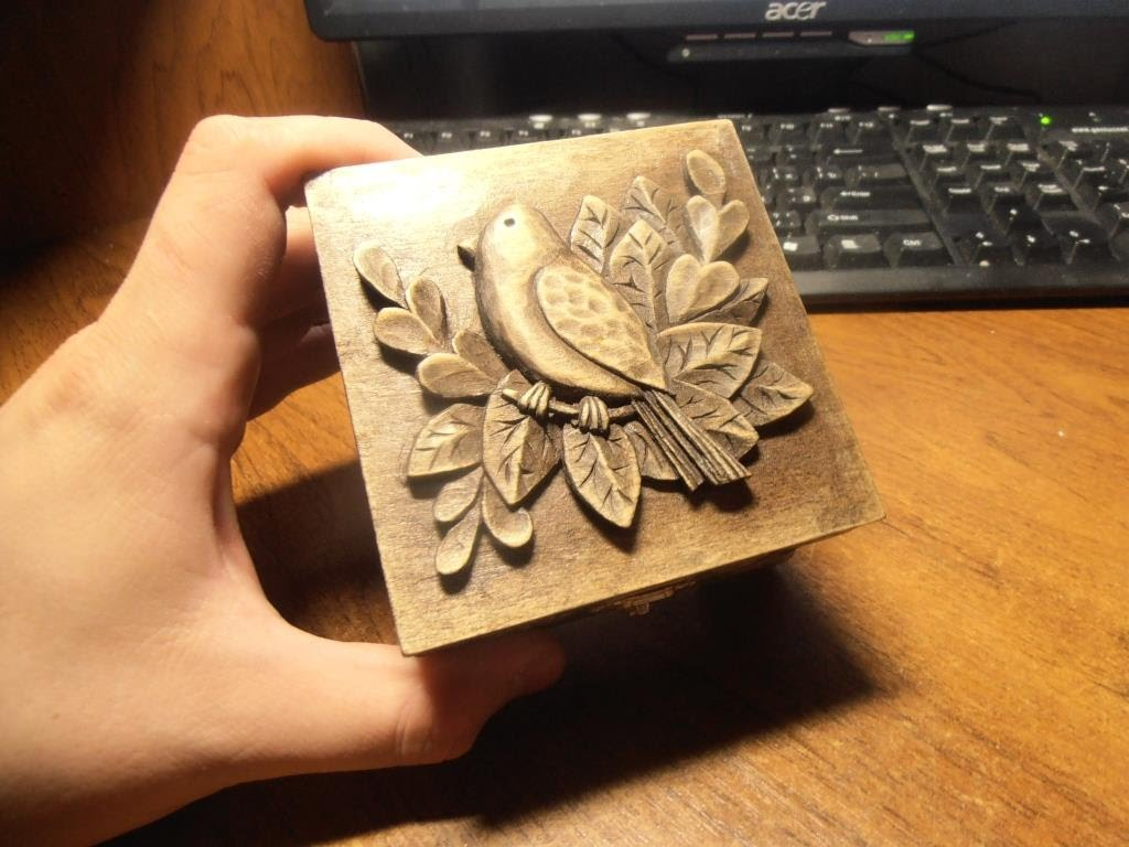 wood carving | Carved jewelry box | Carving On Wooden | artwork | gift | that give | how to make