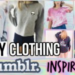 DIY Fall/Winter Clothing| TUMBLR and BRANDY MELVILLE Inspired
