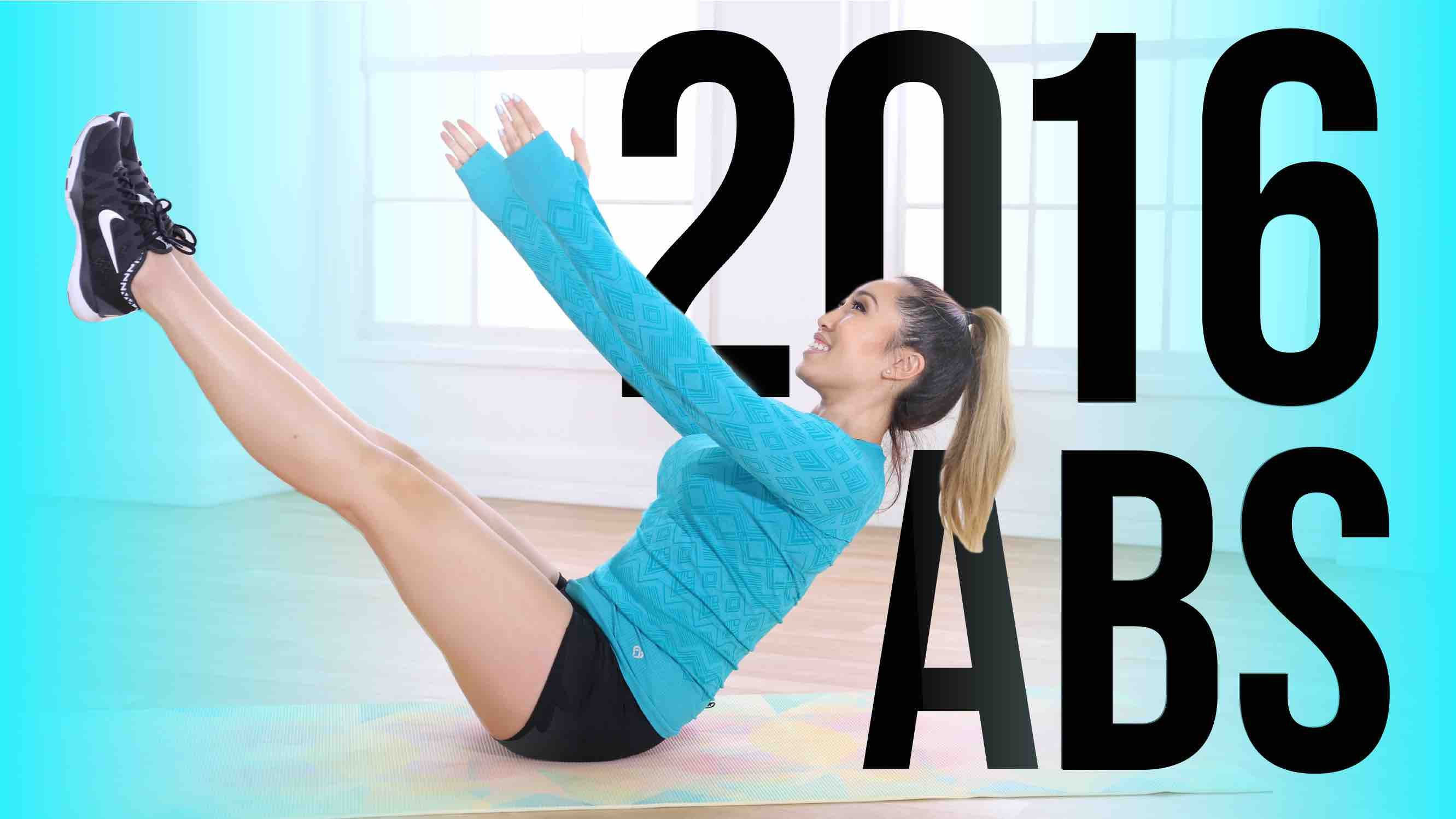 The ULTIMATE 2016 AB WORKOUT!