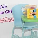 DIY American Girl Doll Lunchables & Capri Sun