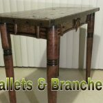 Pallet Furniture – Re-claimed Table – $50 Wood Shop
