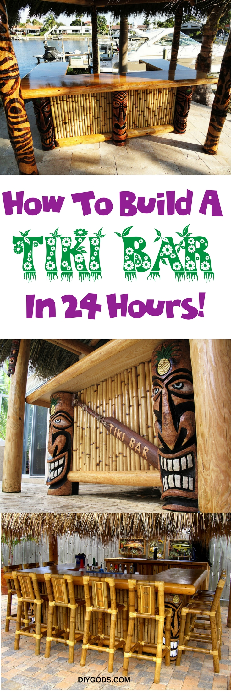 How To Build A Tiki Bar In 24 Hours