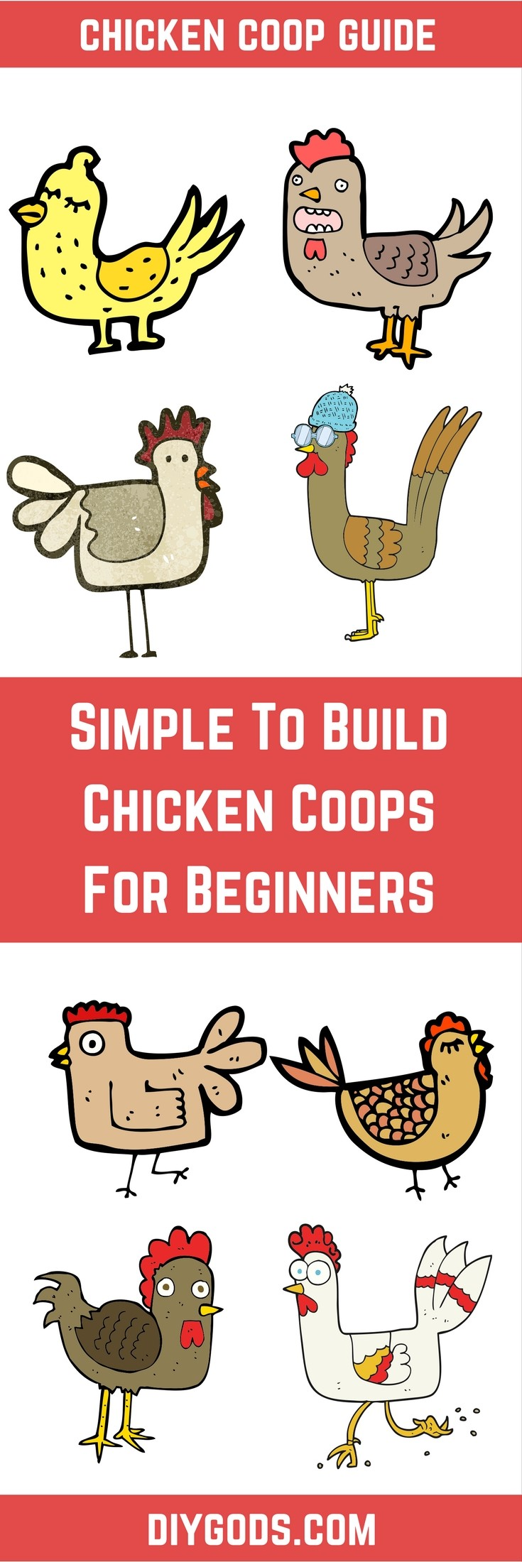 Simple To Build Chicken Coops For Beginners