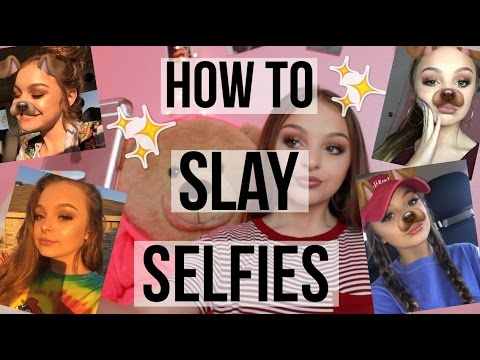 HOW TO SLAY YOUR SELFIE GAME | Avery Morrison