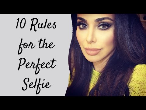The 10 Commandments to the Perfect Selfie!/ How to take a Selfieعشر نصائح لالتقاط أفضل سلفي