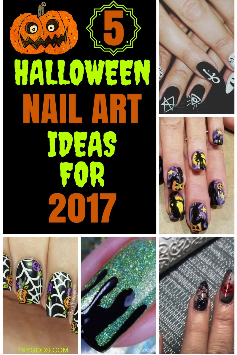 5 Halloween Nail Art Ideas For 2017