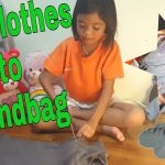 TUESDAY DIY Used clothes to Handbag by Kids || Easy Crafting // 29march2016 //thezunafamily vlogs