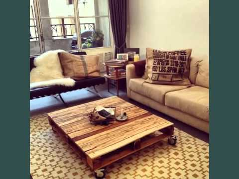 Pallet Furniture Picture Ideas | Recycled Wood Pallets Furniture
