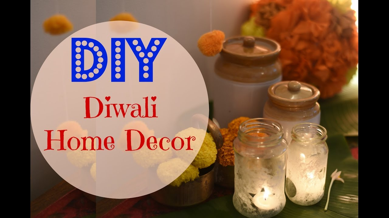 DIY Diwali Home Decor / Indian Wedding Decor Ideas