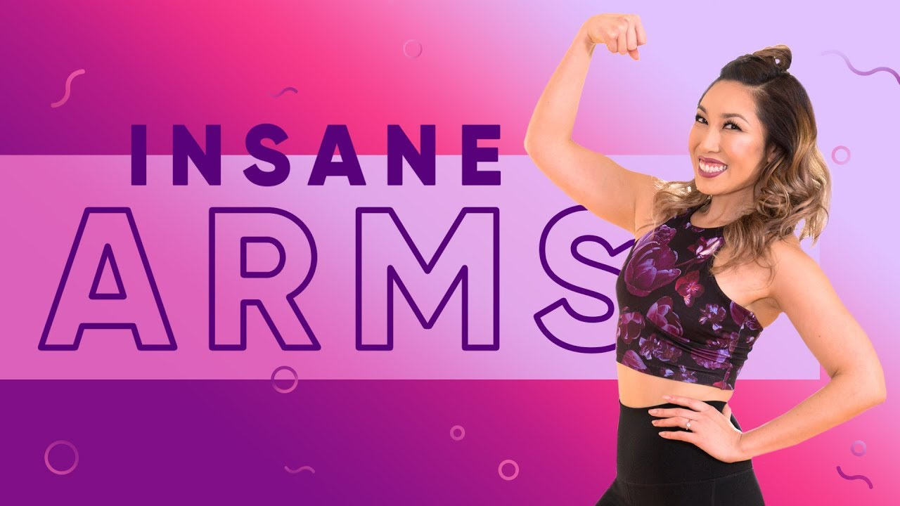 INSANE Weightless Arms Workout | At Home No Equipment Upper Body Exercises