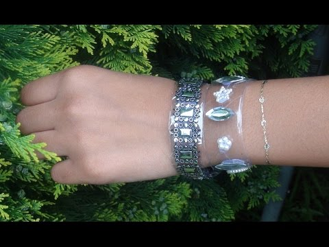 Plastic Bottle Bracelets – DIY Crafts