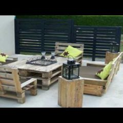 Top Creative Ideas DIY : Wooden Pallet Outdoor Furniture Ideas
