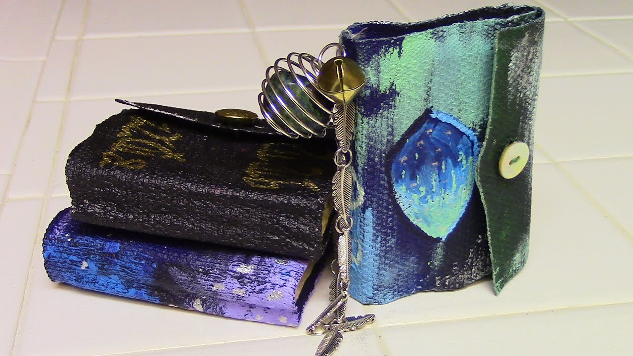 DIY Mini Spell Book | Witchy Crafting