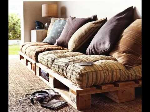 Pallet Sofa Cushion | Diy Pictures Of Pallet Furniture Collection