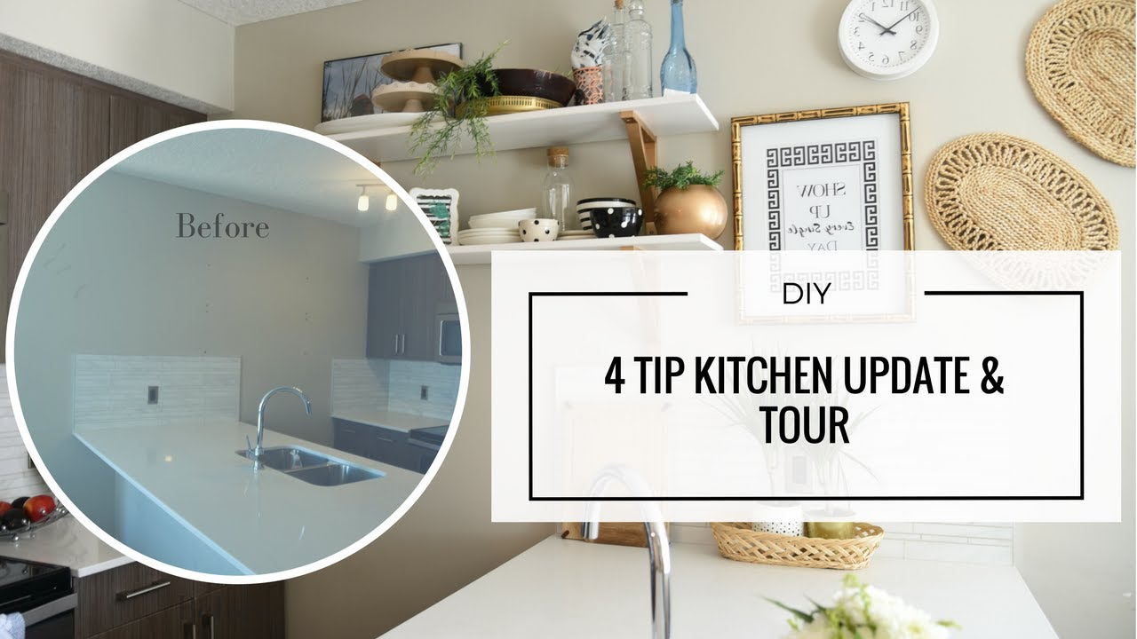 DIY – Easy Rental Kitchen Update for a Pinterest Worthy Reveal