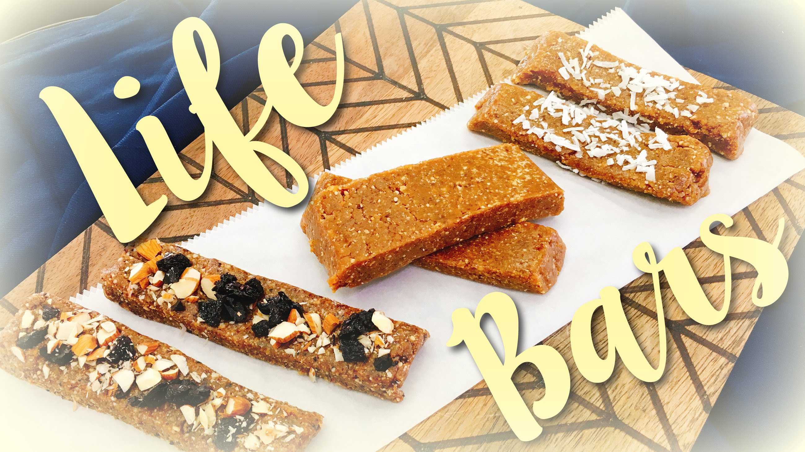 ☼ LIFE BARS ☼ How to Make Your Own Nutrition Bars | CHEAP CLEAN EATS
