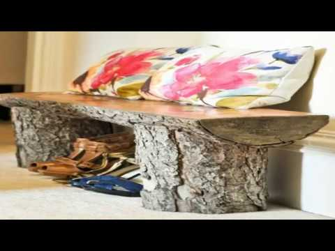 cool diy project ideas | 20 DIY Wood Log Projects ideas