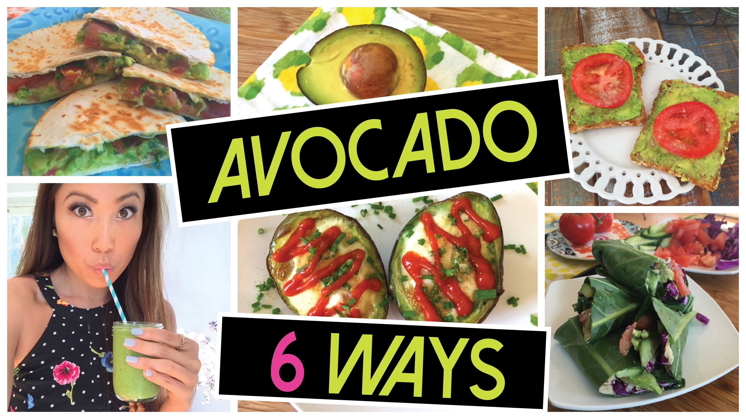 6 Unique & Exciting Ways to Eat Avocado