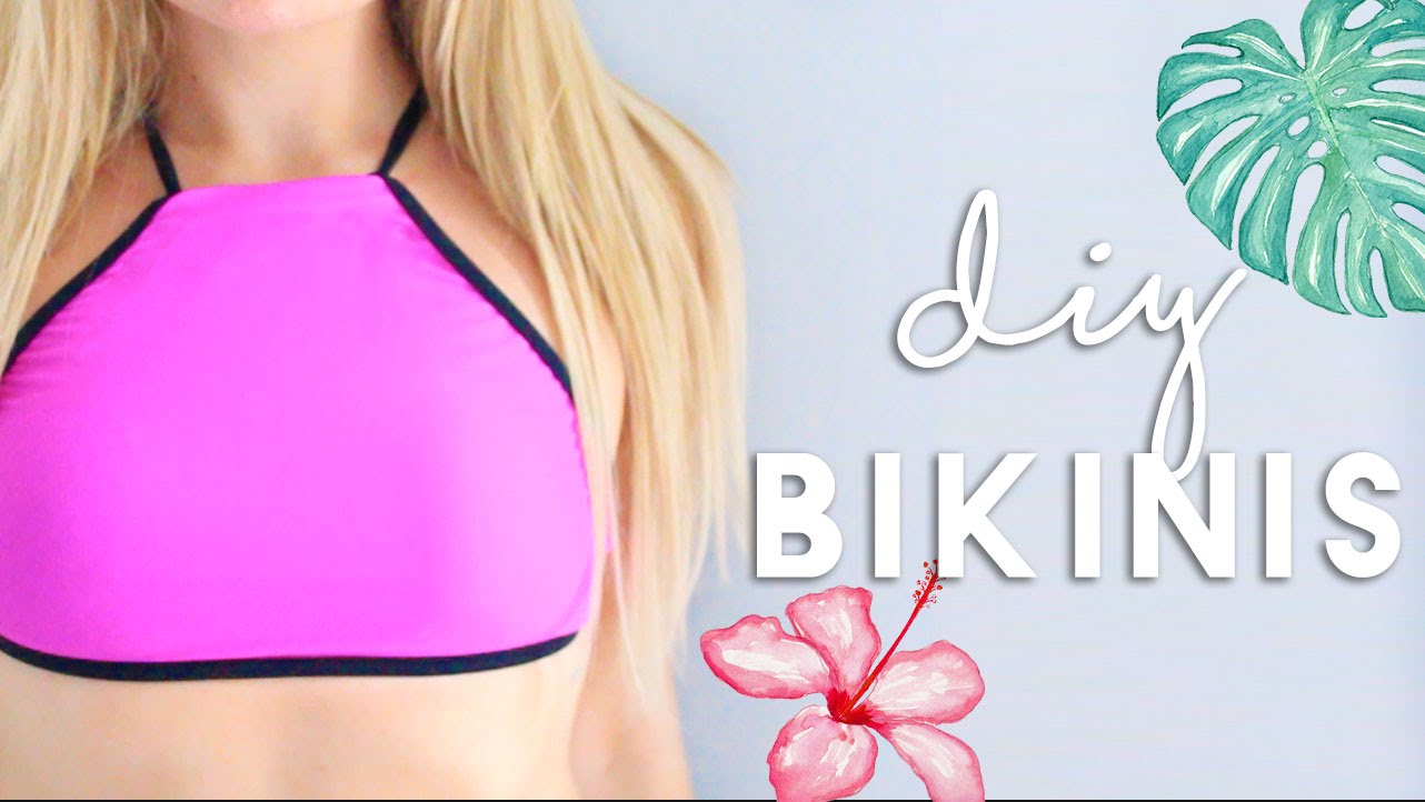 DIY Bikinis & Beach Cover Up | DIY Summer Clothes