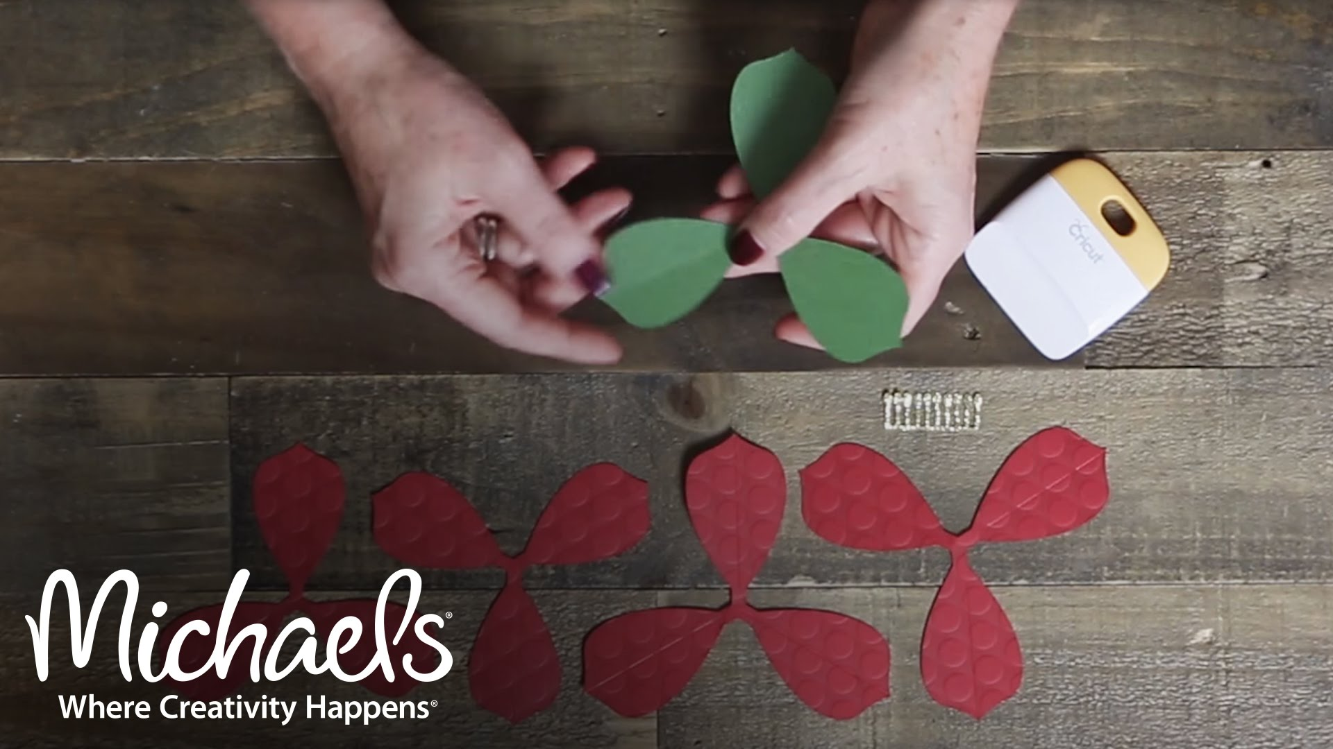 Cricut: Paper Crafting Flowers | DIY Tech | Michaels