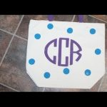 DIY Monogram Tote Bag | Sizzix Teen Craft